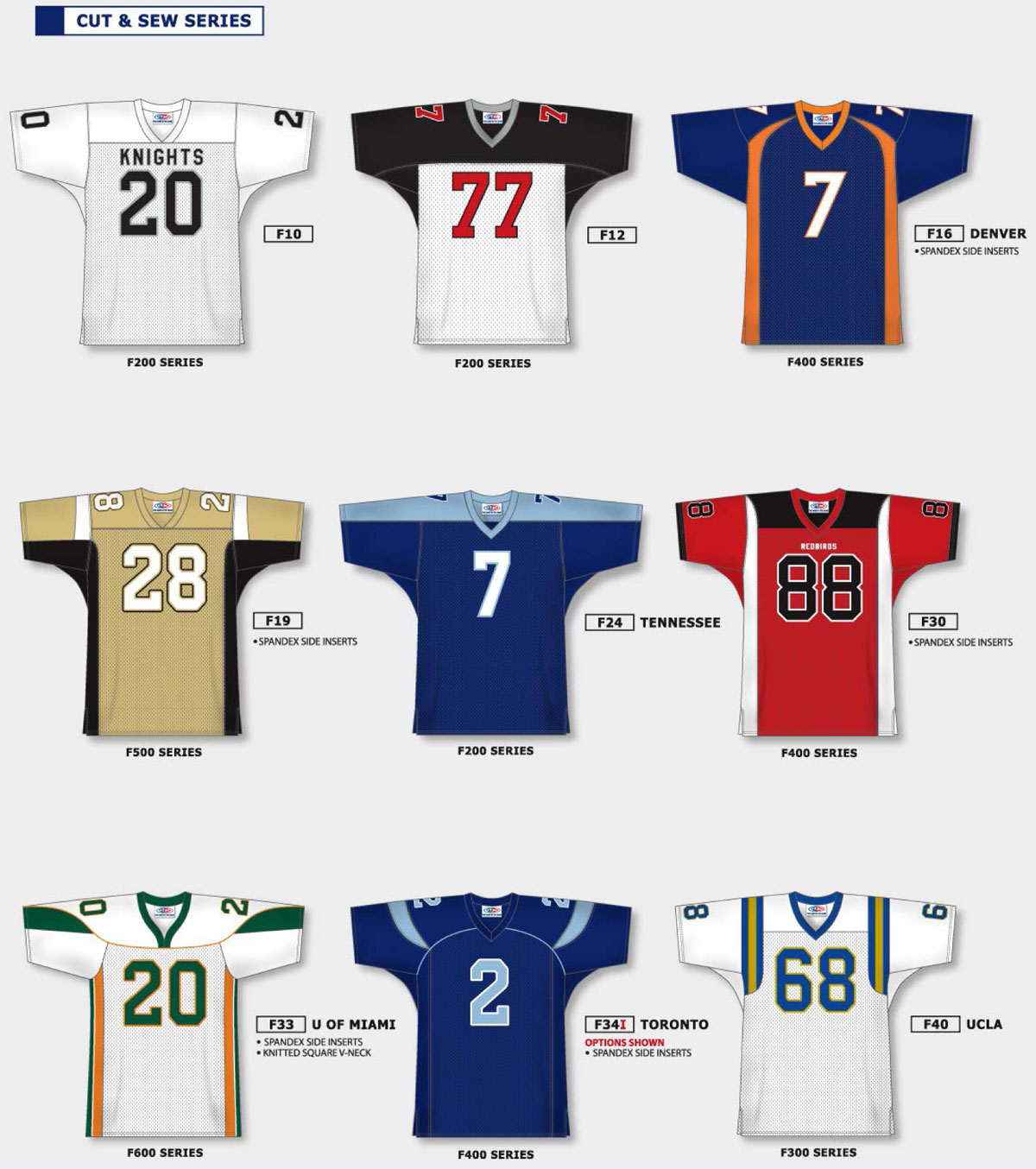 Design your own football jersey t-shirt - F10 F12 Custom Football Jerseys